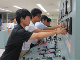 原子炉施設の安全性実習